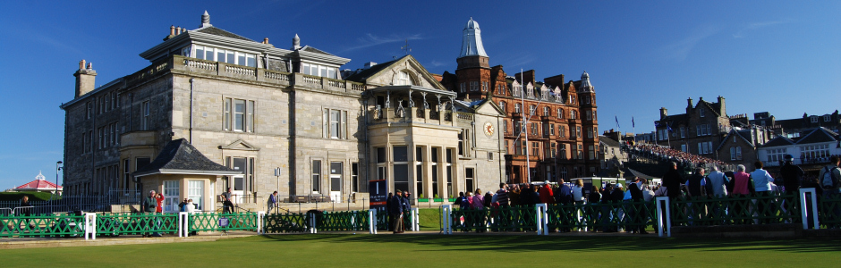 Royal & Ancient Club House, Old Course, St Andrews, Fife, Scotland